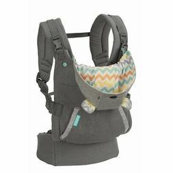 Infantino Women's Cuddle Up Ergonomic Hoodie Carrier - Gray