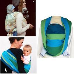 Didymos Woven Wrap Baby Carrier Stripes Iris Organic Corton