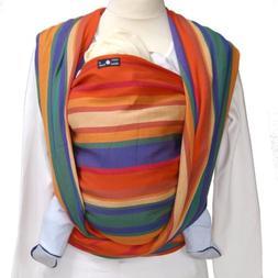 DIDYMOS Woven Wrap Baby Carrier Stripes KATJA , Size 7