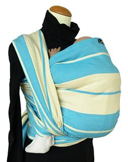 DIDYMOS Woven Wrap Baby Carrier Standard Stripes Turquoise ,