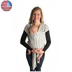 Baby Wrap Carrier, Stripes, Easy To Put On Swaddle Blanket f