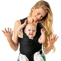 Baby Wrap Carrier Hands Free - Breathable Soft and Stretchy