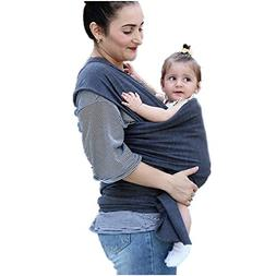 Baby Wrap Ergo Carrier Sling for Newborns + Toddlers, Extra