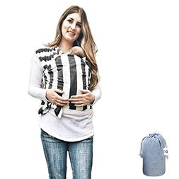Baby Wrap Ergo Carrier Sling - by FNF Snugz - Baby Sling, Ba