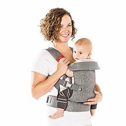 You+Me 4-in-1 Convertible Baby Carrier with 3D Cool Air Mesh