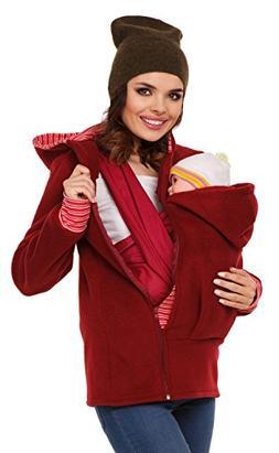 Zeta Ville - Womens Top Maternity Hooded Sweatshirt Babywear